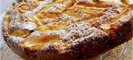 Τάρτα μήλου χωρίς ζύμη, με κανέλα | Συνταγές | Scoop.it