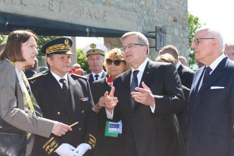 Coudehard. Première visite d'un président au Mémorial de Montormel | La Normandie dans la Seconde Guerre mondiale | Scoop.it