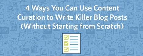4 ways content curation helps blogging more efficiently | Lean Content Marketing | Scoop.it