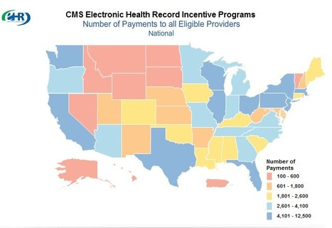 ONC map lets users track EHR incentive payments nationwide | EHR and Health IT Consulting | Scoop.it