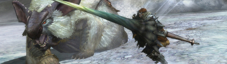 Monster Hunter 3 Ultimate's new enemies include Volvidon and Lagombi   Monster Hunter 3 ultimate   Scoop.it