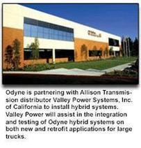 Odyne Systems, LLC Partners with Allison Transmission's California Distributor, Valley Power Systems, Inc., for Plug-In Hybrid Installations - Politics Balla | Politics Daily News | Scoop.it