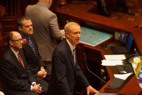 Rauner says slim down government - Illinois News Network | Illinois Legislative Affairs | Scoop.it