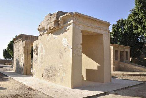 Restaurado el templo que alojaba la barca sagrada de Tutmosis III | Egiptología | Scoop.it