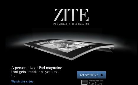 Zite: Personalized Magazine for iPad | Social media kitbag | Scoop.it