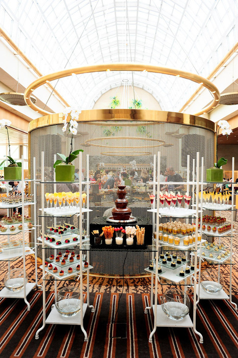 Greenhouse Restaurant Ritz-Carlton Millenia Singapore | Candy Buffet Weddings, Events, Food Station Buffets and Tea Parties | Scoop.it