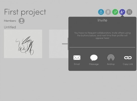 Talkboard - Sketch and Talk With Others in Realtime | Technology in Today's Classroom | Scoop.it