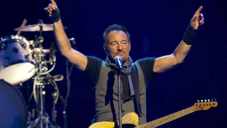 Bruce Springsteen : la petite histoire de ses plus grands tubes - BFM TV | Bruce Springsteen | Scoop.it
