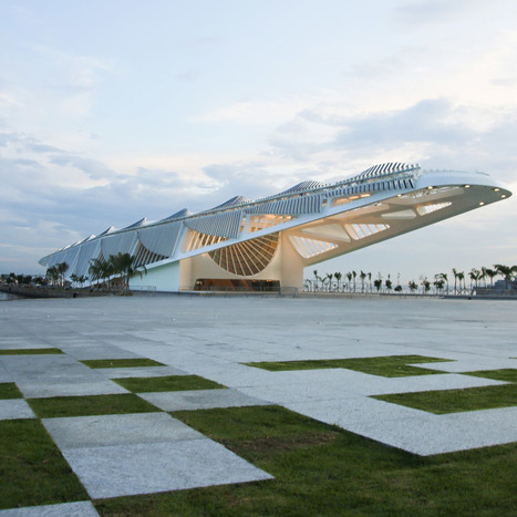 Santiago Calatrava's Museum of Tomorrow opens in Rio | The Architecture of the City | Scoop.it