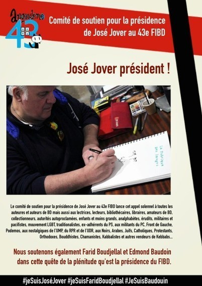 Comité de soutien pour la présidence de José Jover au 43e FIBD | Le Malouin | Scoop.it