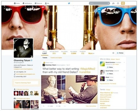 Big Update to Twitter brings New Look and Features - | Marketing & Webmarketing | Scoop.it