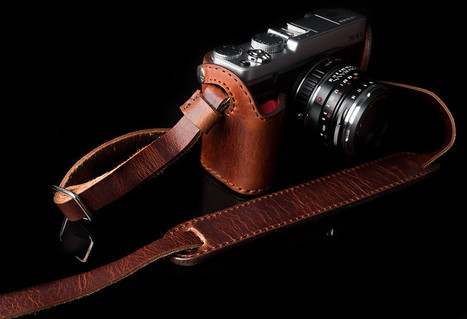 Leahter Half Cases  + Neck Strap | Angelo Pelle | Fuji X Series Cameras | Scoop.it