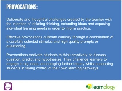 Effective Provocations: Inquiry based flipping | Flip Your Thinking Blog | Scoop.it