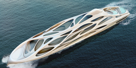 zaha hadid designs 128m superyacht | Misc | Scoop.it