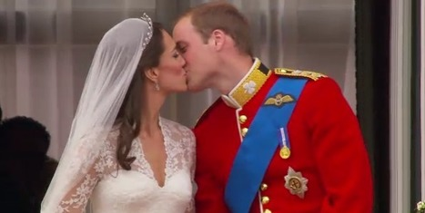 Le baiser de Kate et William sur le balcon du Buckingham | Epic pics | Scoop.it