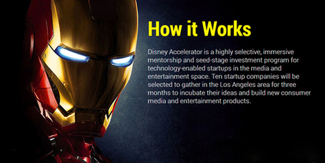 Disney lancia l'acceleratore per menti creative - ninjamarketing.it   triwu.it   Scoop.it