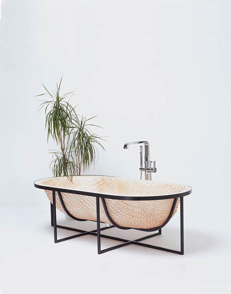 tal engel's otaku woven bathtub draws on traditional asian boat building techniques | Design search | Scoop.it