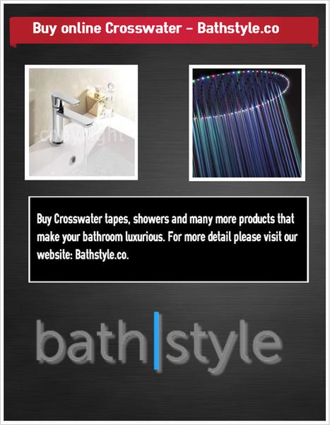 Buy online Crosswater - Bathstyle.co | Bathstyles | Scoop.it