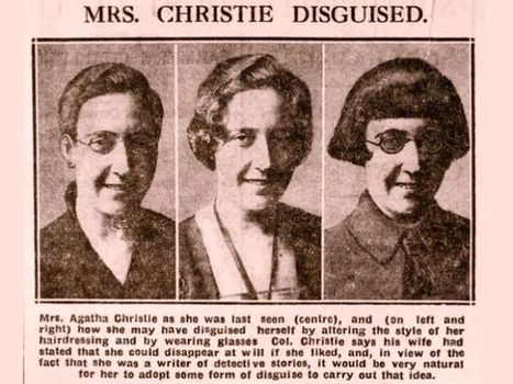 The Lady Vanished: The Mysterious 1926 Disappearance of Agatha Christie | Strange days indeed... | Scoop.it