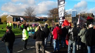 Protests in Sunderland over plans to build mosque  | Tyne Tees - ITV News | The Indigenous Uprising of the British Isles | Scoop.it