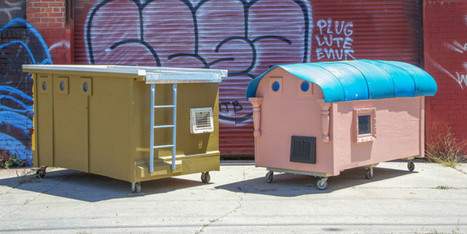 Artist Converts Trash Into Compact Mobile Homes For The Homeless - Huffington Post | Small Spaces | Scoop.it
