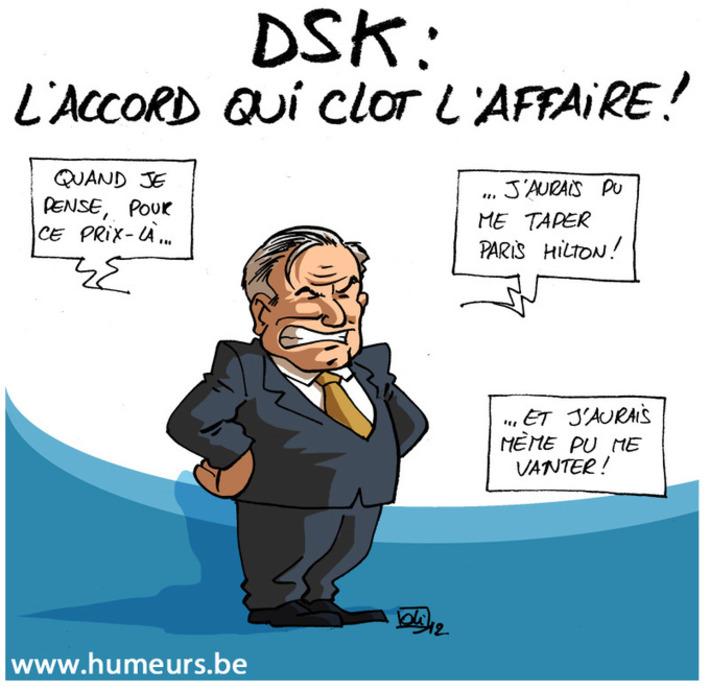DSK en a fini avec les tribunaux américains ! | Baie d'humour | Scoop.it