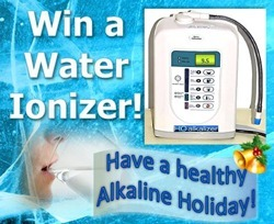 Jump start your health with Alkaline Water. Water Ioniser Giveaway (Drawing Dec. 20, 2013) | The Basic Life | Scoop.it