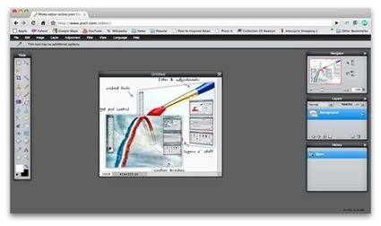 20 профессиональных бесплатных онлайн редакторов изображений и приложения для рисования | Он-лайн редакторы и мобильные приложения для рисования | Scoop.it