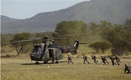 South African military flexes muscles ahead of Congo mission | Aerospace Information | Scoop.it
