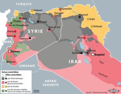 Querelle stratégique face à l'offensive de l'Etat islamique en Irak et en Syrie - Libération | Le monde sous toutes ses cartes | Scoop.it