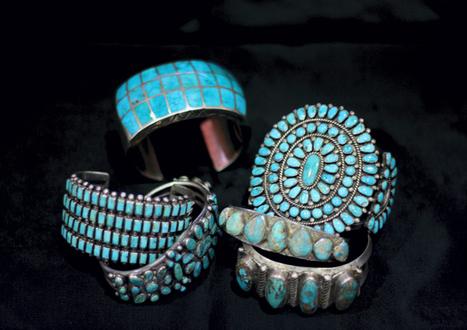 Vintage Native American jewelry on display - Daily News - Galveston County | shubush jewellery adornment | Scoop.it