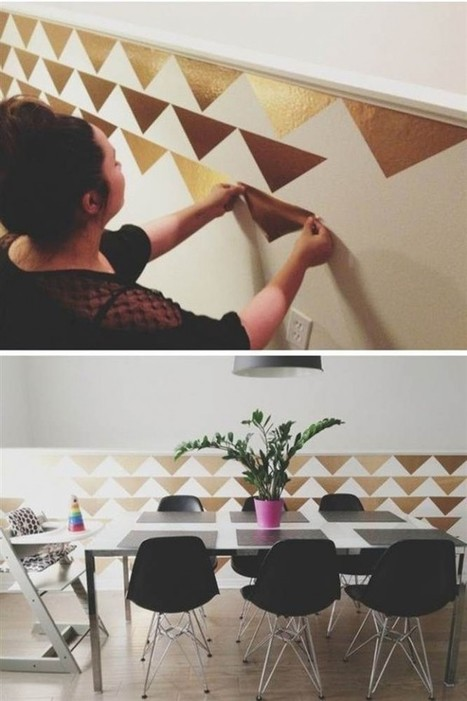 Comment utiliser le doré dans son intérieur? – Cocon de décoration: le blog | Décoration | Scoop.it