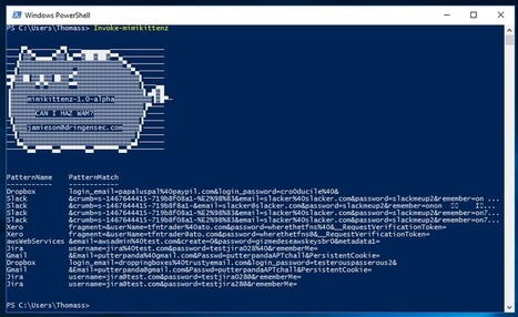 Mimikittenz - Post-Exploitation Powershell Tool for Extracting Juicy info from Memory - Pir8g33k | Pir8g33k | Scoop.it