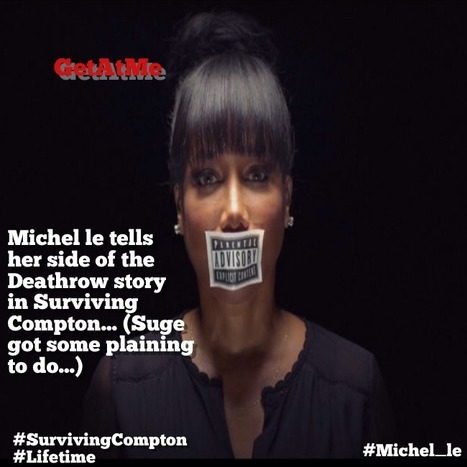 "GetAtMe Michel le has a story to tell ""Once upon a time in Compton... #ItsAboutTheMusic 