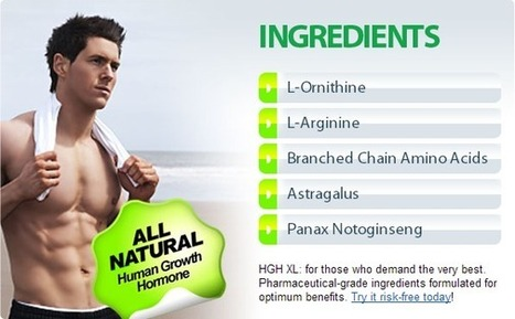HGH XL Review - 100% Result Oriented Product For Men! | walker anderson | Scoop.it