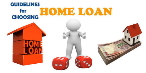 Guidelines on wisely choosing the best Home Loan in India | Builders in Bangalore | Scoop.it
