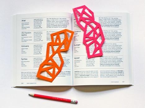 Geometrici segnalibri... Ops! Orecchini | Orecchini Fai da Te: i migliori tutorial | Scoop.it
