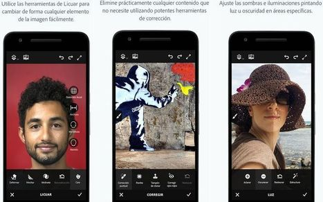 Adobe Photoshop Fix también llega a Android después de triunfar en iOS | Software y Apps | Scoop.it