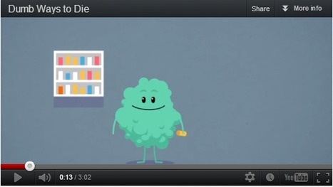 "Dumb Ways to Die ""...use your private parts as piranha bait..."" 