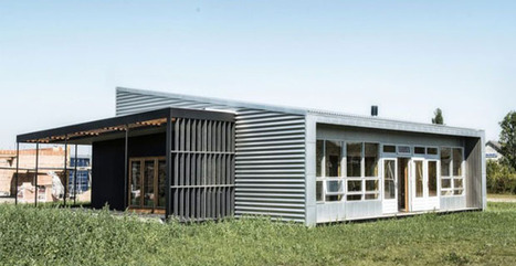 Upcycle house: una casa interamente riciclata | Sustain Our Earth | Scoop.it
