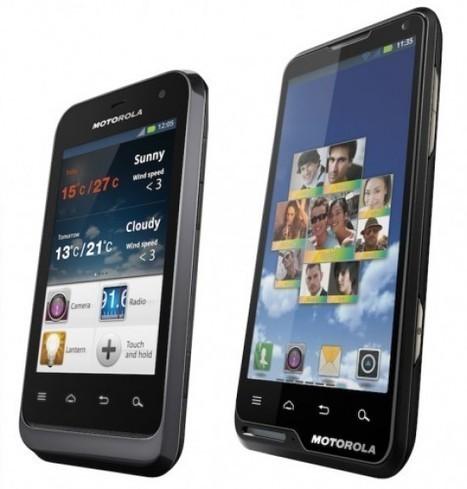 CES 2012 : les Motorola Motoluxe et Defy Mini sont annoncés | E-Tourisme Mobile | Scoop.it