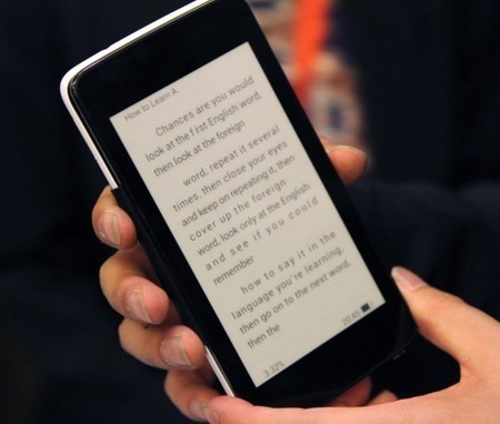 Prototype mobile phone covers foreshadow new wave of E Ink ... | Phone Cases and more | Scoop.it