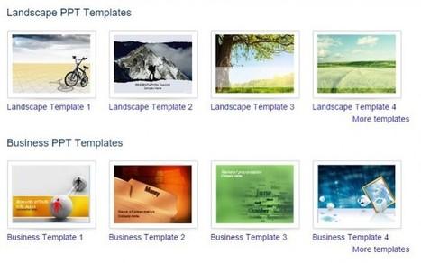 5 sitios para conseguir plantillas profesionales de PowerPoint | desdeelpasillo | Scoop.it