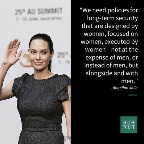 Angelina Jolie's Powerful Speech On What Women Really Need From Men | Communication | Scoop.it