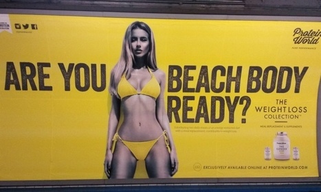 'Beach body ready' tube ads to be taken down ahead of mass protest | Sex & men & women. | Scoop.it