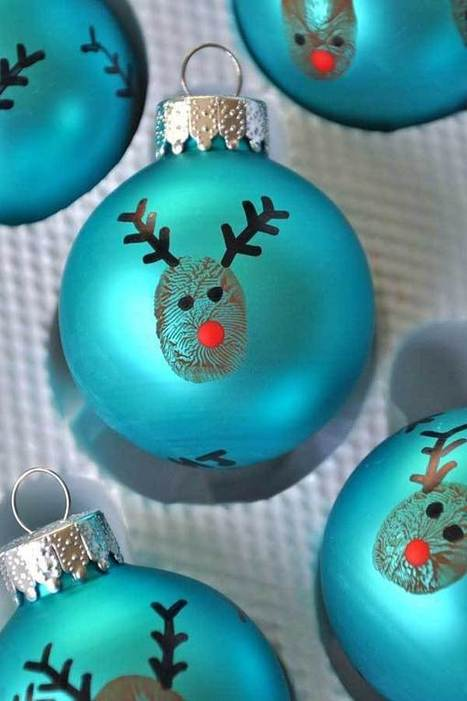 Top 38 Easy and Cheap DIY Christmas Crafts Kids Can Make | WooHome | Christmas Decorations | Scoop.it