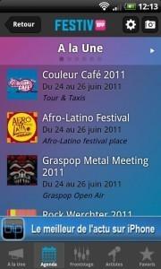 Tous les festivals belges sur Android | Applications Android | Application Android | Scoop.it