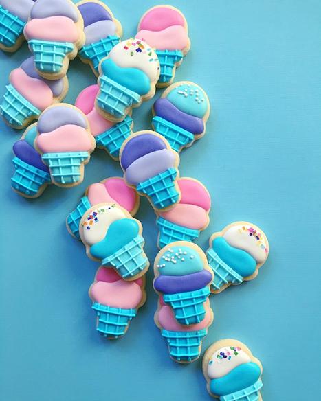 Graphic Designer Applies Her Professional Skills To Make Cookies   Web Explorer   Scoop.it