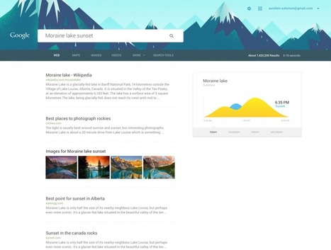 Google.com material design concept based on Android 5.0 Lollipop | i Gadgets World | innovative Gadgets World | iGadgetsworld | Scoop.it