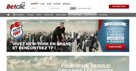 Un tirage au sort BetClic pour voir Tony Parker | Paris sportifs & bookmakers | Scoop.it